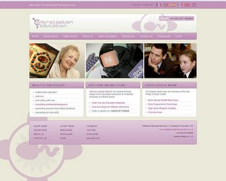 Contraception Education New Website